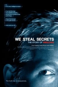 We Steal Secrets: The Story of Wikileaks - Theatrical Poster - Courtesy of Universal Pictures and Focus World