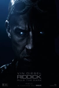 Riddick - Advance Theatrical Poster Style B - Courtesy of Universal Pictures