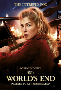 The World's End - Rosamund Pike Advance Theatrical Poster - Courtesy of Focus Features