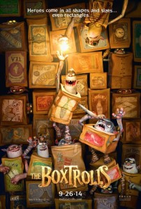The Boxtrolls - Advance Theatrical Poster - Courtesy of Focus Features
