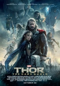 Thor: The Dark World - Theatrical Poster - Courtesy of Marvel Studios and Walt Disney Pictures