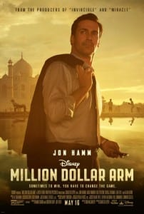 Million Dollar Arm Movie Poster