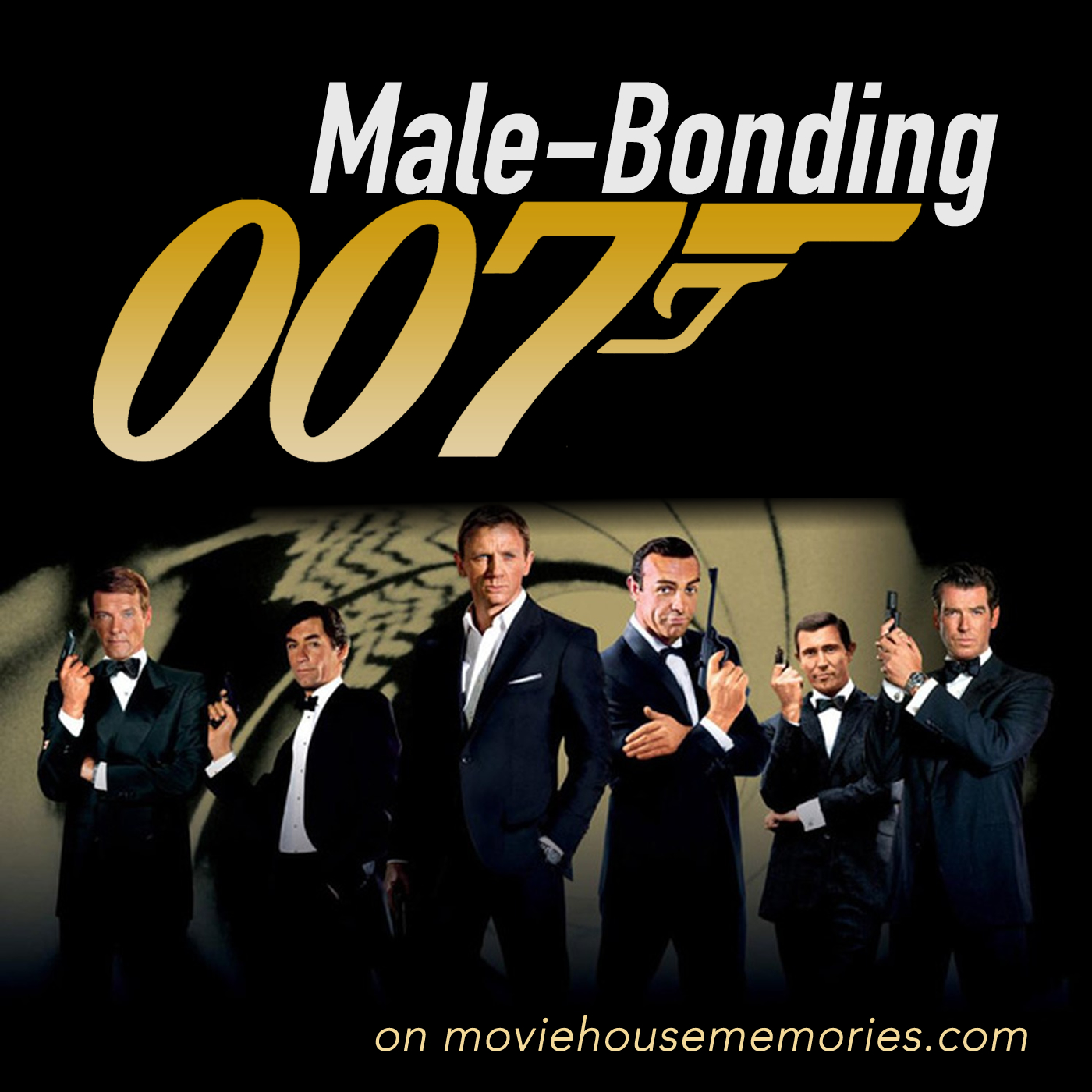 Male Bonding: The James Bond Movie Reviews