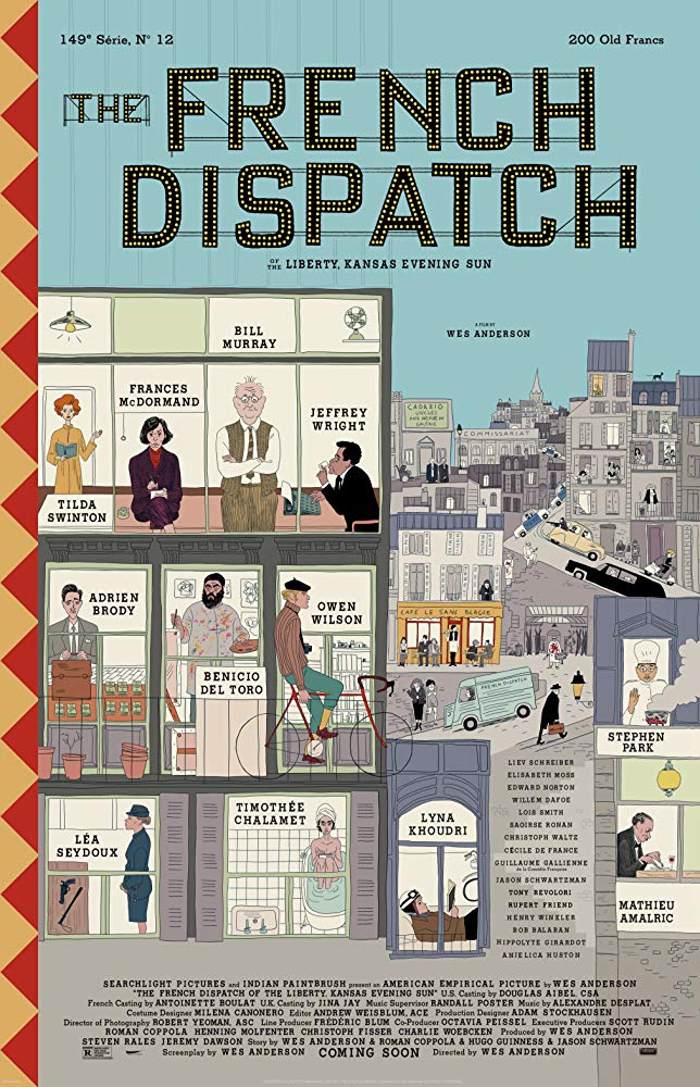 The French Dispatch (2020)